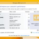 Windows 8.1 Leistungsindex
