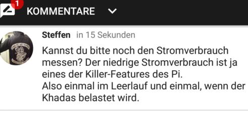 Kommentarbild von Steffen